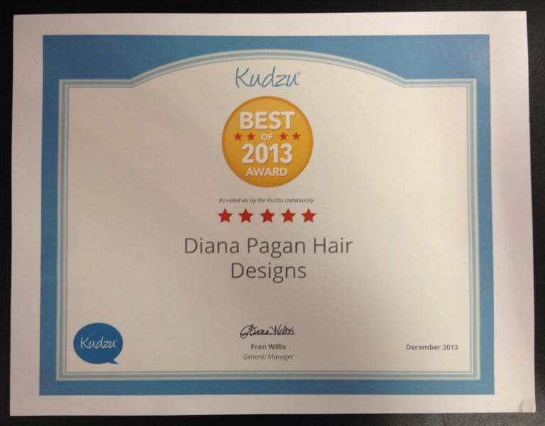 Diana Pagan Hair Designs Salon
